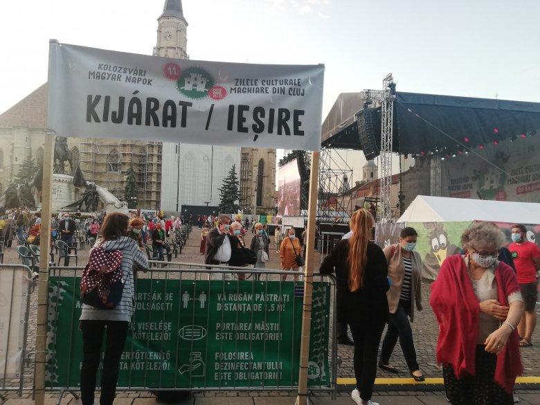 Oltottság, teszt, felgyógyulás: feltételekkel lehet részt venni a Kolozsvári Magyar Napok főbb programjain