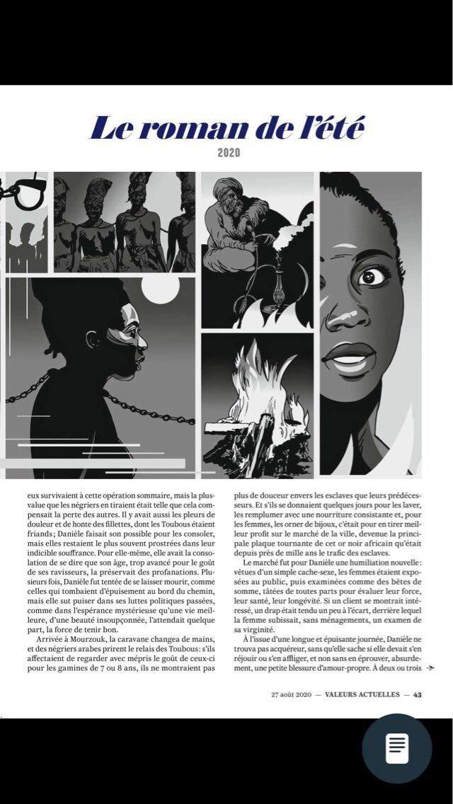 Megbüntették egy francia hetilap szerzőit, amiért rabszolgaként ábrázoltak egy fekete bőrű képviselőnőt