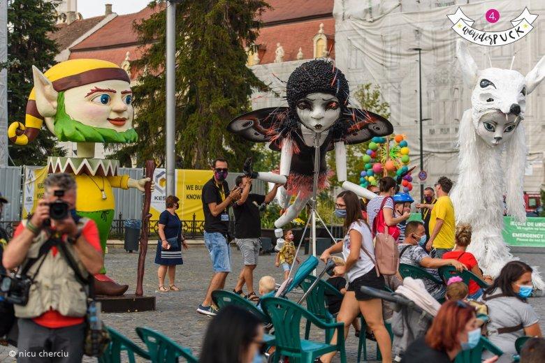 Külföldi társulatok is fellépnek a WonderPuck Utcaszínház Fesztiválján Kolozsváron
