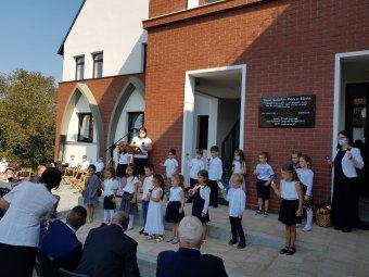 Ha óvoda van, magyar intézményrendszer van – Zilahon felavatták a budapesti kormánytámogatásból épült tanintézetet