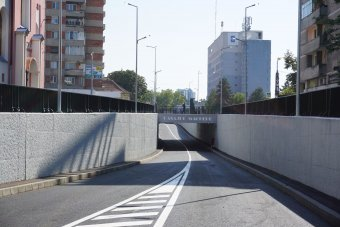 A magyar határhoz is megkönnyíti az eljutást az új váradi aluljáró