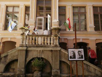 Bartókra, Bánffyra emlékeztek Marosvécsen, az egykori helikoni írótalálkozók emlékét is felelevenítették