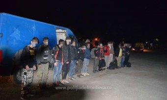 Határrendészet: közel háromszor több határsértés történt tavaly Romániában