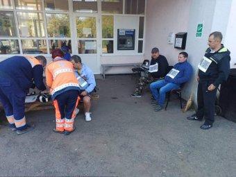 Éhségsztrájkká fajult a marosnémeti hőerőmű alkalmazottainak tüntetése