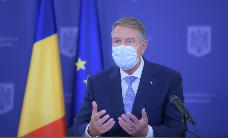Iohannis: Románia jól kezeli a járványt, nincs szó újabb karanténról, de otthonülős karácsonyra számíthatunk