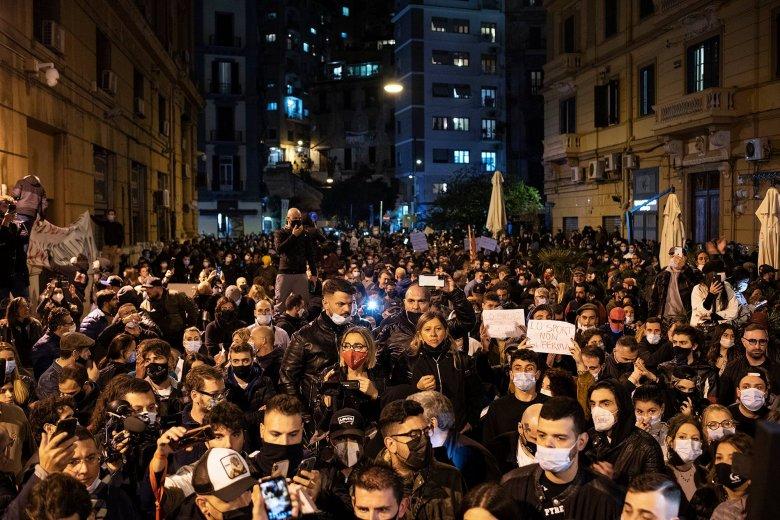 Nemzetbiztonsági riasztás Olaszországban: összecsapásokká fajultak a tüntetések