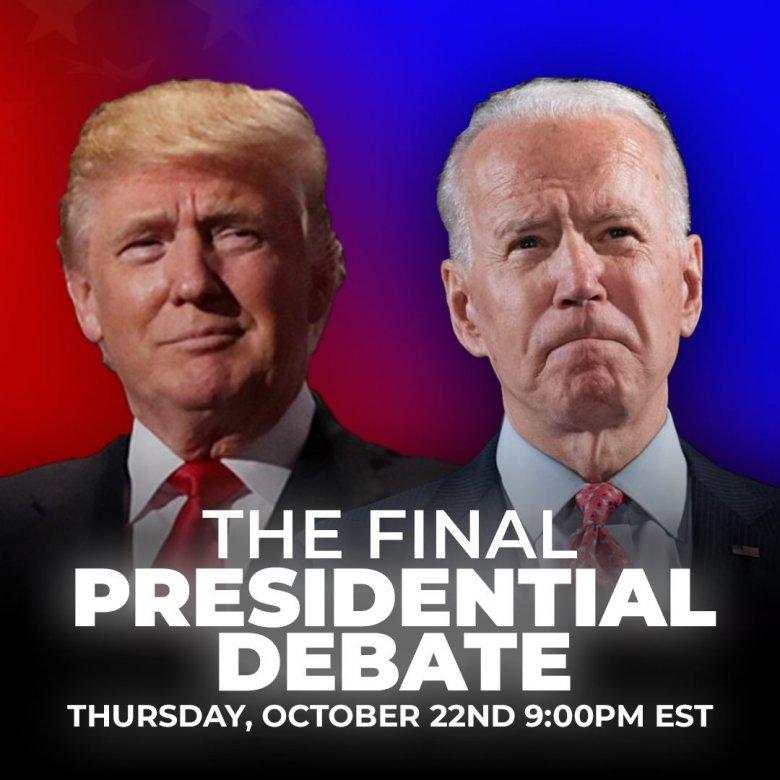 Lényeges kérdésekről és higgadtan vitázott Trump és Biden az utolsó elnökjelölti összecsapáson