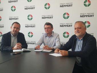A negatív kampányra fogja az EMNP, hogy ezúttal sem sikerült az áttörés