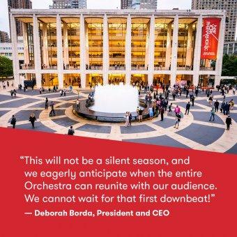 A Metropolitan Operaház után a New York-i Filharmonikusok is törölték az egész évadot