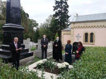 Erdély Széchenyijére emlékeztek Kolozsváron: felavatták gróf hídvégi Mikó Imre sírkeretét
