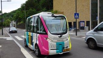 Sofőr nélküli busz róhatja Brassó utcáit