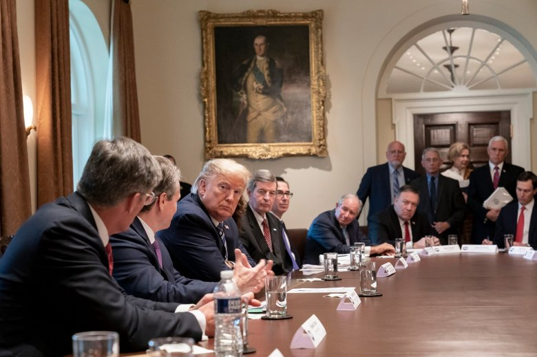 Donald Trump szerint létezik néhány alkalmazható terápia a koronavírus-fertőzés kezelésére