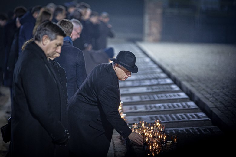 """""""Auschwitz egy nagy seb"""" – A túlélők voltak a fő vendégek a 75. évfordulós megemlékezésen"""