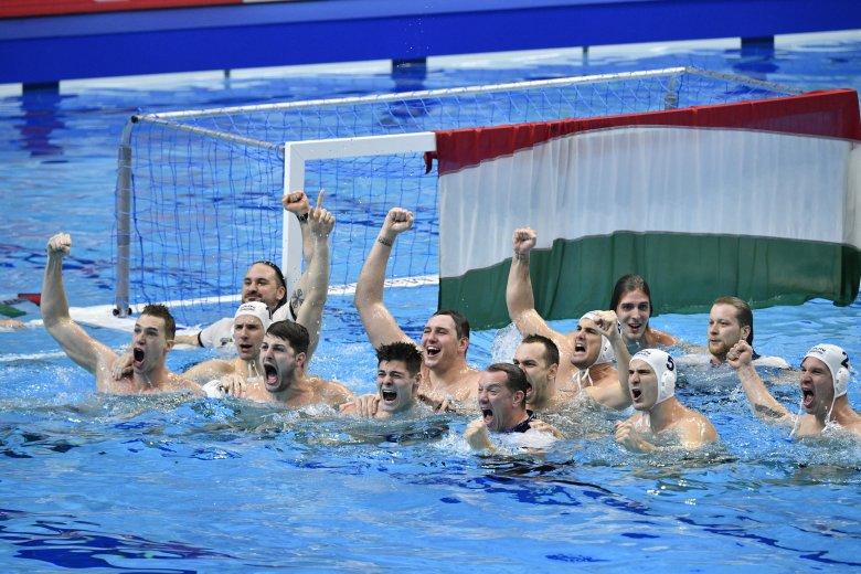 Ellenfeleket kaptak a magyar vízilabdázók az olimpián