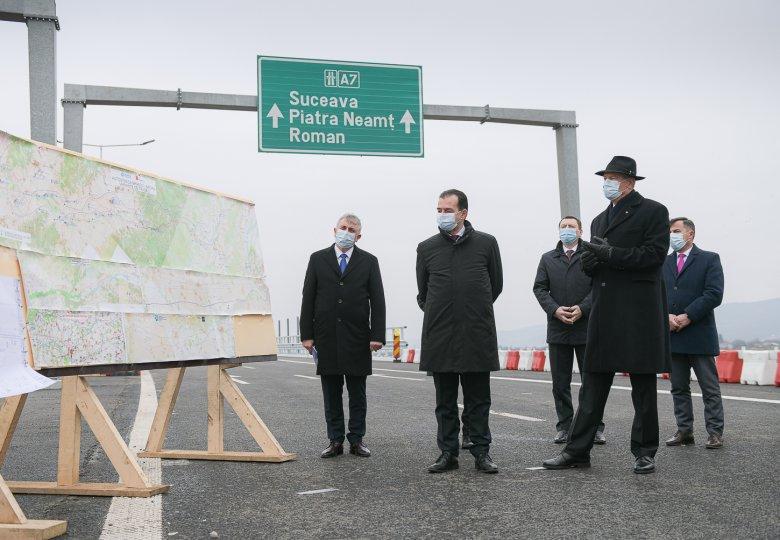 Átadták a forgalomnak a moldvai régió első sztrádaszakaszát