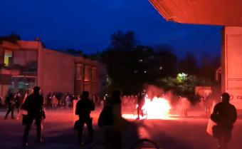 Szlovéniában is digitális oktatásra állnak át, erőszakos tüntetések Ljubljanában a szigorítások ellen
