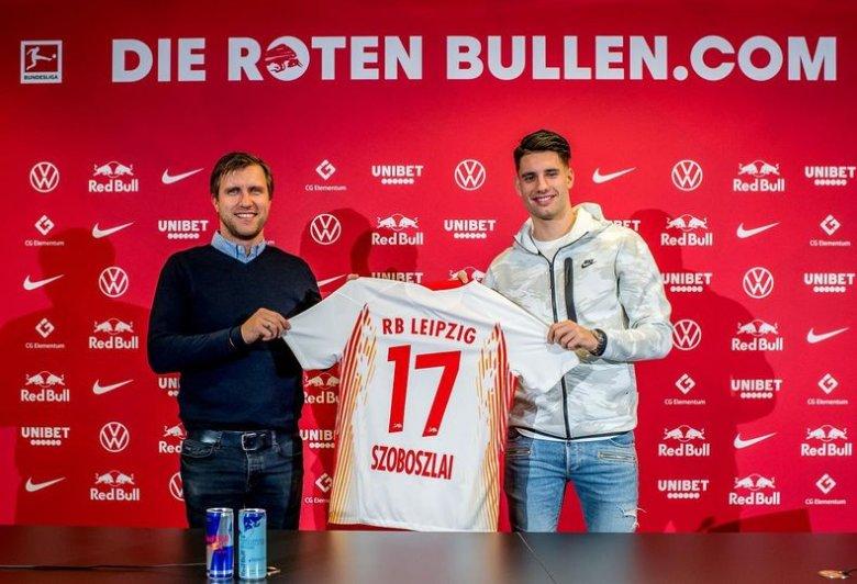Hivatalos: Szoboszlai az RB Leipzig játékosa