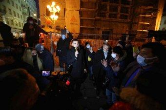 Nem teszi ki az ablakba az AUR vezetője a fogadtatást, amiben a temesvári forradalmárok részesítették