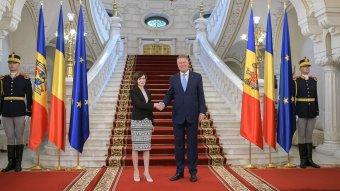 A Moldovai Köztársaságba látogatott Klaus Iohannis államfő
