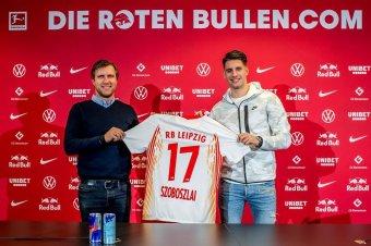 Erősödik a magyar kontingens: Szoboszlai Dominik az RB Leipzighez igazolt