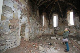 Az értékes freskót is restaurálják a magyar szakemberek az egyedülálló szász templomban