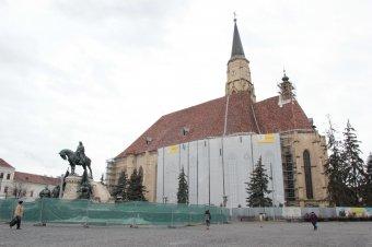 Megmutatnák a megújuló kolozsvári Szent Mihály-templomot