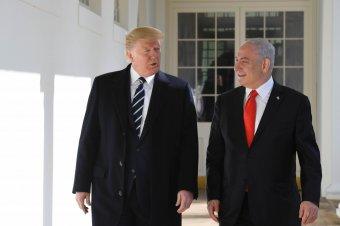 Donald Trump kétállami megoldást javasol a palesztin–izraeli konfliktus rendezésére