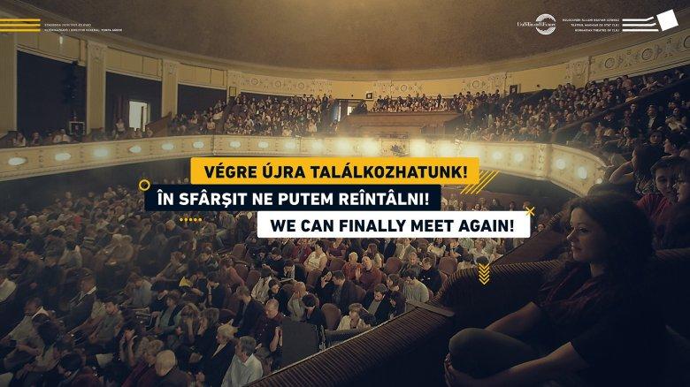 Négy hónap kényszerszünet után újra megnyitja kapuit a kolozsvári színház