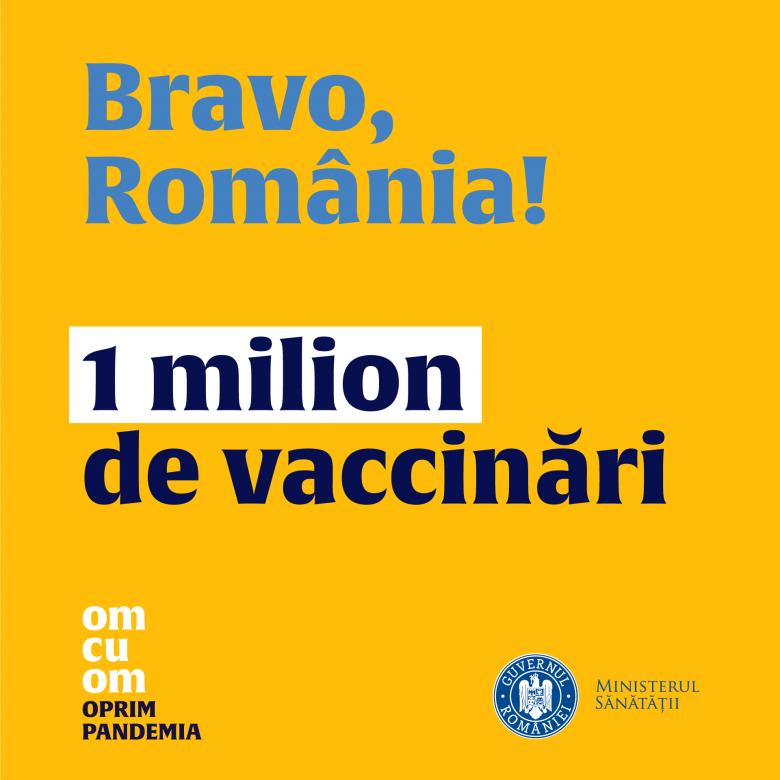 Elfogyott már egymillió adag vakcina Romániában, újabb egymillióan regisztráltak oltásra