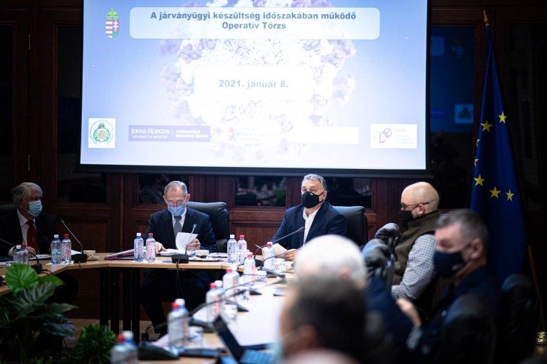 Február 1-jéig meghosszabbítják a korlátozó intézkedéseket Magyarországon