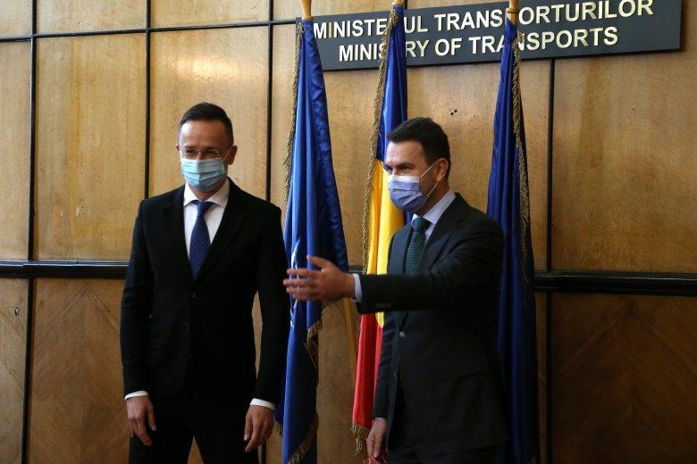 Szijjártó Péter a magyar–román gyakorlati sikerekről, bizalomépítésről, új sztrádaátkelőről beszélt Bukarestben