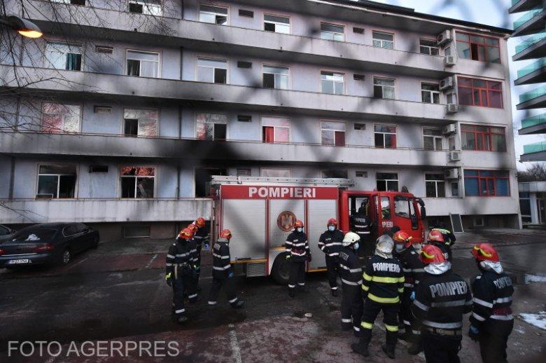Kórháztűz: nem volt az épületnek végleges tűzvédelmi engedélye, de Arafat szerint az sem segített volna