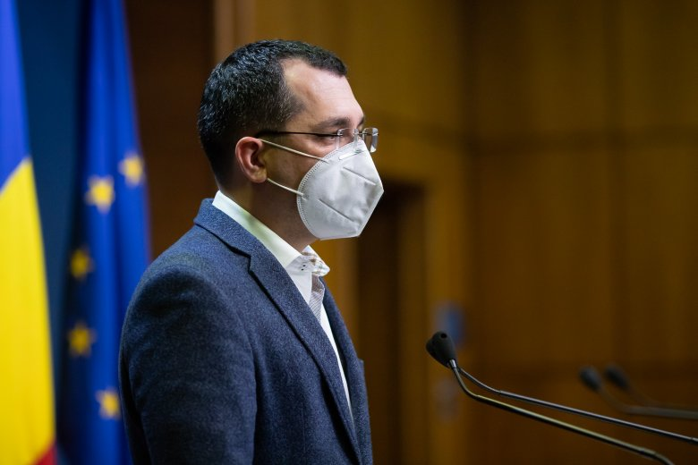 Dan Barna szerint a kormánykoalíció kitart Vlad Voiculescu egészségügyi miniszter mellett, támad a PSD