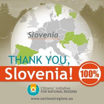 """Nemzeti régiók: Szlovéniában is összegyűltek az aláírások, nyolcra nőtt a """"kizöldült"""" országok száma"""