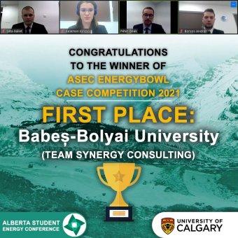 Nemzetközi gazdasági versenyen nyertek első helyet a BBTE magyar diákjai