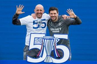 A Glasgow Rangers egyedüli világelső 55 bajnoki címével