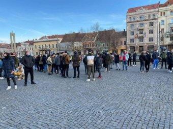 A korlátozások ellen tüntettek Románia számos városában, Erdélyben is voltak tiltakozó megmozdulások
