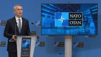 NATO-főtitkár: Putyin felelős Oroszország agresszív magatartásáért