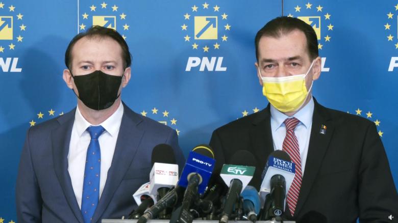 Szombaton csap össze Ludovic Orban és Florin Cîțu a PNL elnöki tisztségéért