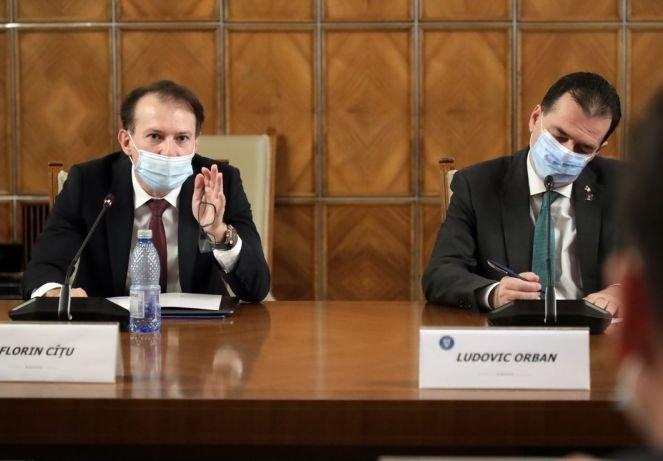 """Orban szerint nem keresnek új kormányfőt, Cîțu """"jól döntött"""" Voiculescu leváltásakor"""