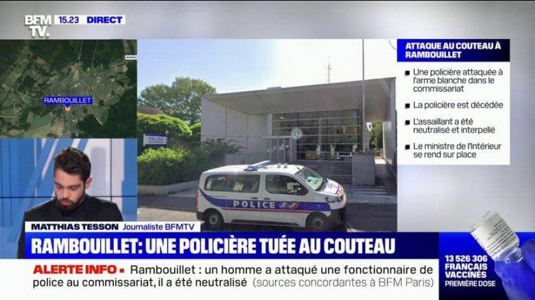 Halálra késeltek egy rendőrnőt, kikelt az iszlamista terrorizmus ellen a francia államfő