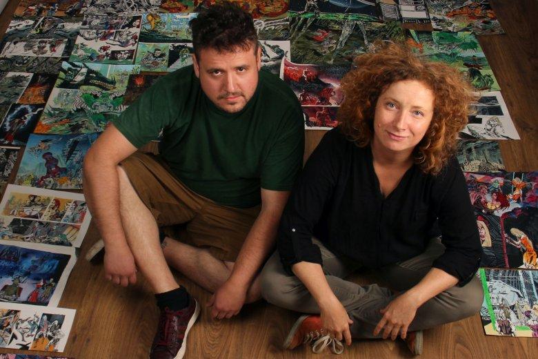 Felüdülés az elmének – Beszélgetés Sárosi Mátyás és Szabó Kriszta képzőművészekkel, képregényalkotókkal