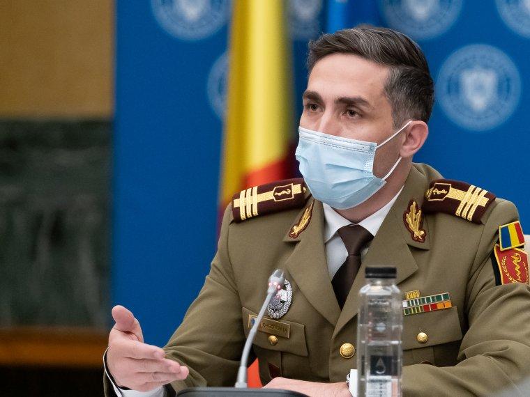 Gheorghiţă: keddtől már naponta mintegy 80000 személyt oltanak be, döntő többségük Pfizert kap