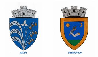 Saját címert használhat Érmihályfalva és Málnás