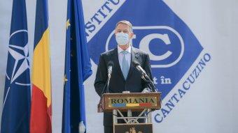 Iohannis szerint Románia gyorsan és hatékonyan kezeli a járványt