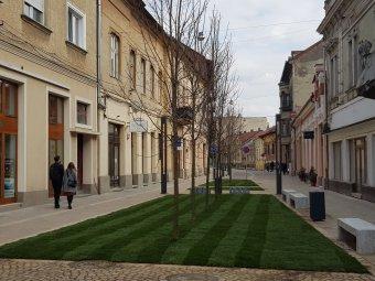 Újabb sétálóutcával várja a turistákat Nagyvárad
