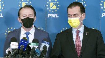 Belharc a liberálisoknál: az elemző szerint Klaus Iohannis államfő Florin Cȋţu mellett tette le a voksát