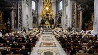 Ferenc pápa nagycsütörtökön: ma is jelen van életünkben a kereszt és a keresztre feszítők is