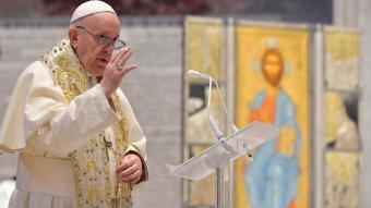 Ferenc pápa: Európa nem dicső múltja, hanem lakosságának életkora miatt öreg