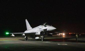 Négy brit vadászgép érkezett járőrszolgálatra a konstancai Mihail Kogălniceanu légibázisra